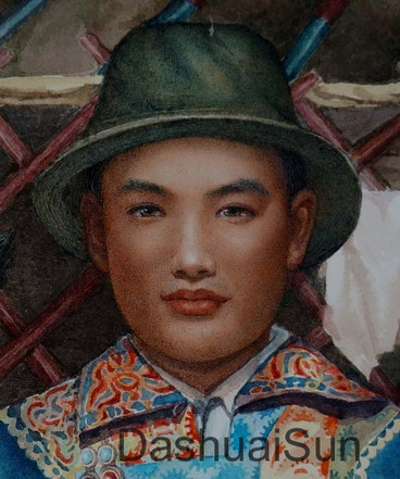 Auspicious Mongolia (detail)