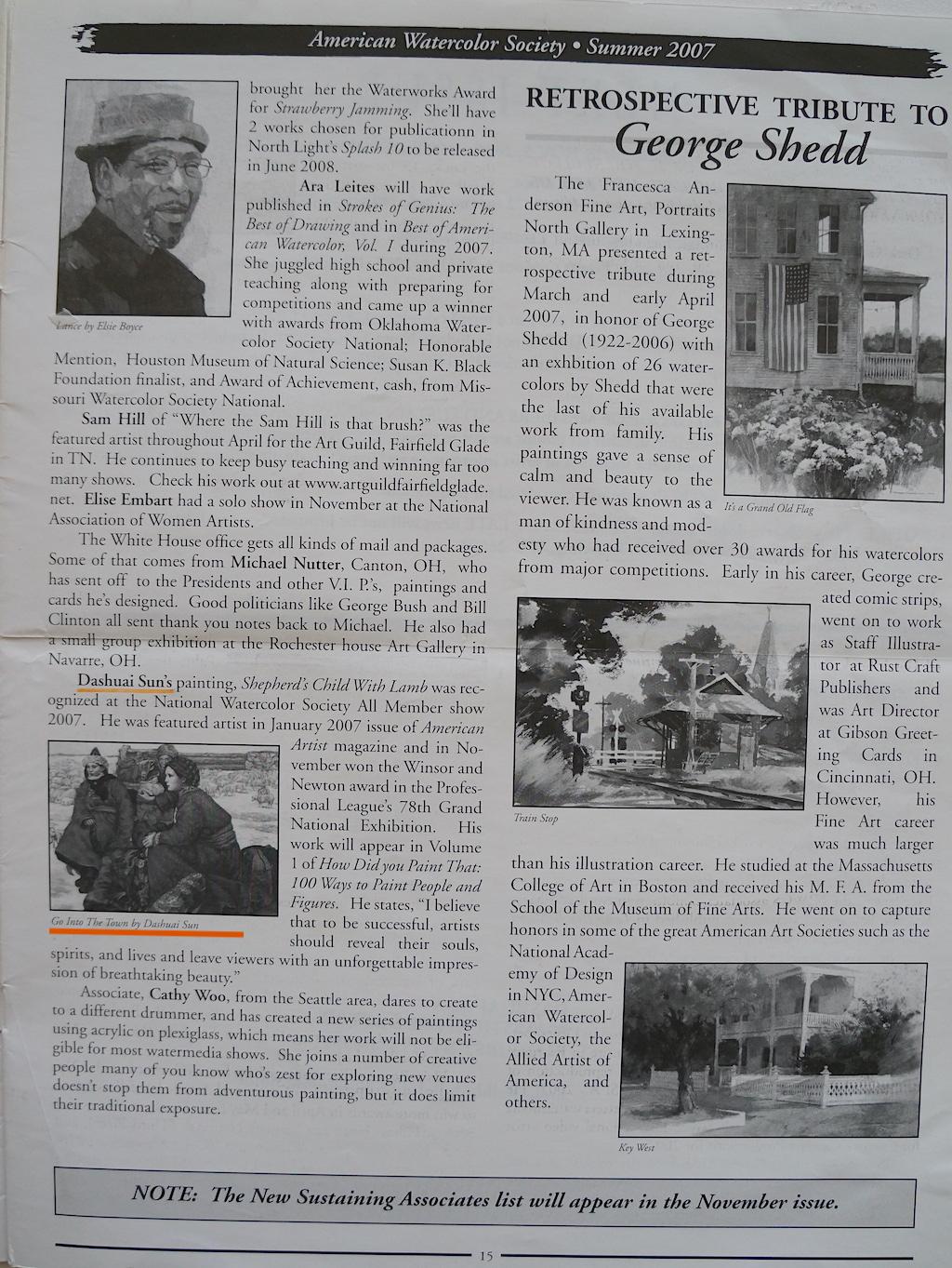 AWS Newsletter Summer 2007-02