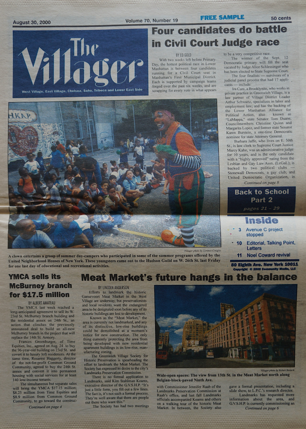The Villager 20000830
