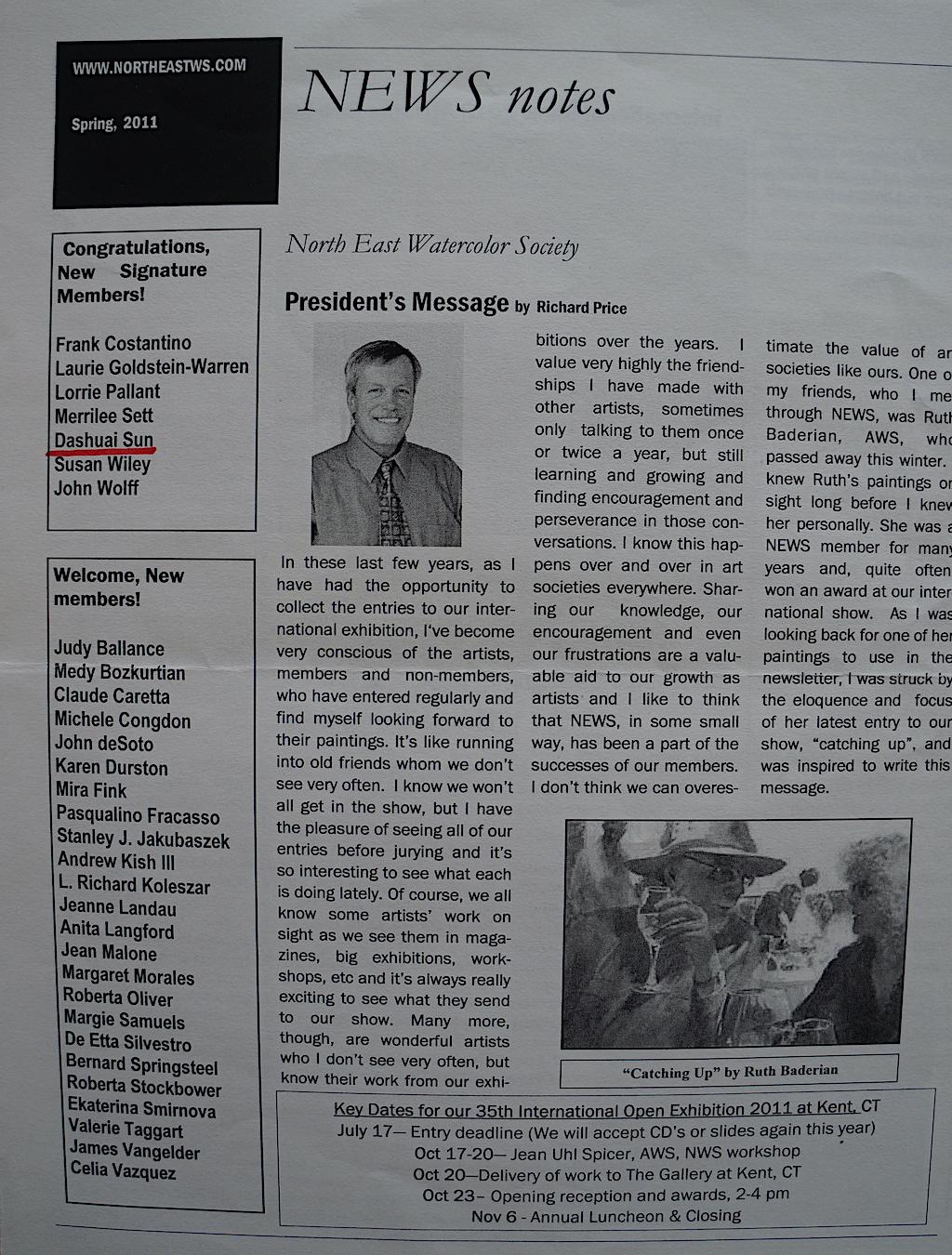 NEWS Spring 2011
