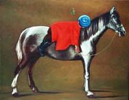 《红衣骑马孩》