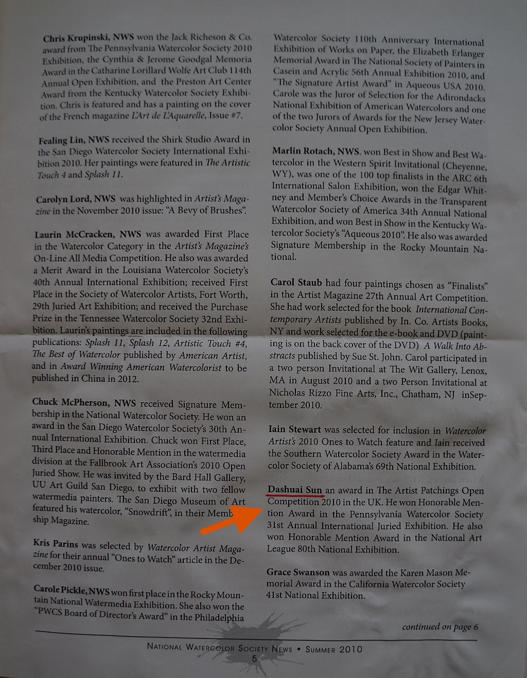 NWS News Summer 2010-03