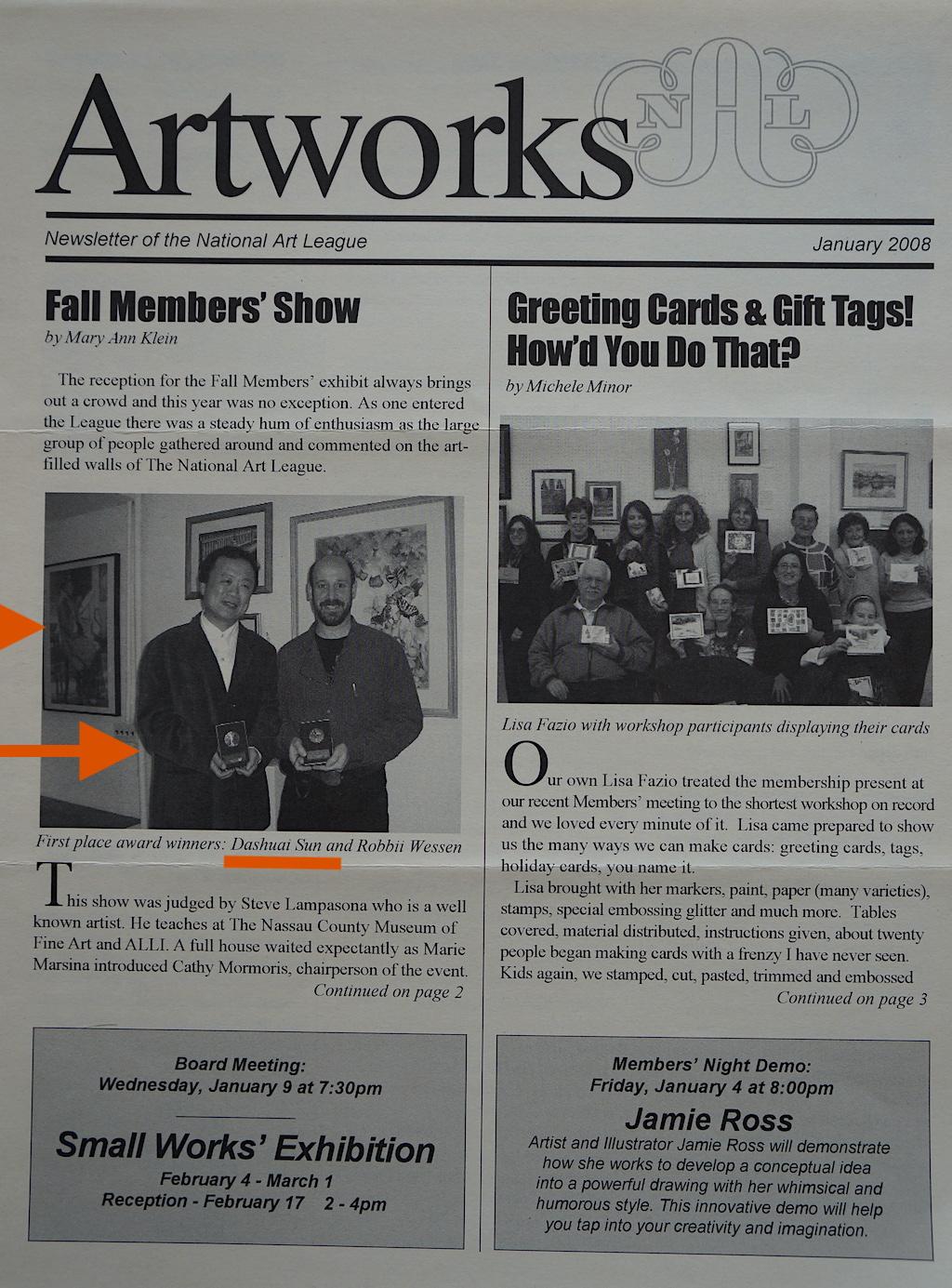 NAL Newsletter Jan. 2008