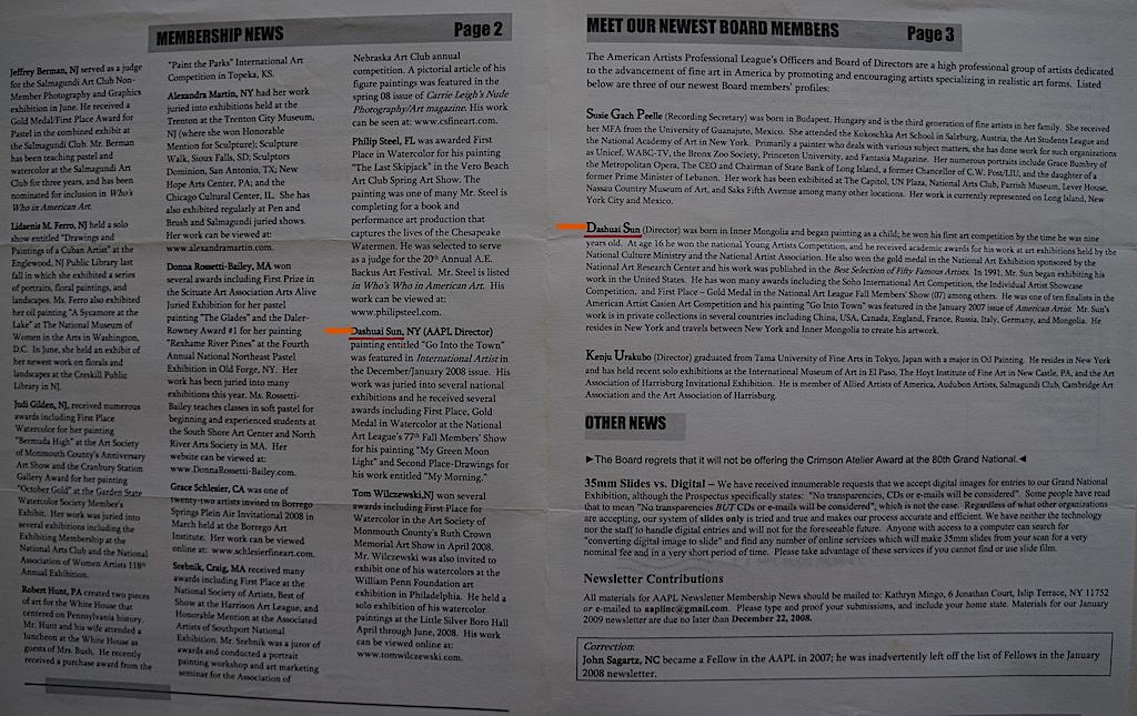 AAPL Newsletter Semi Annual 2008-02