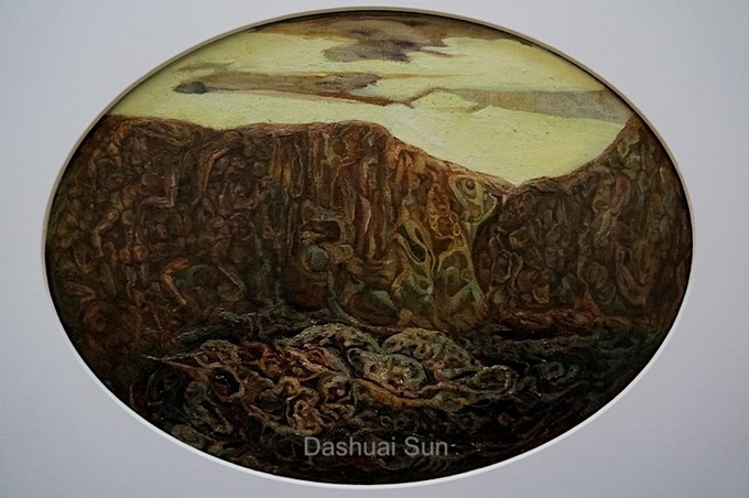 Dream Series 03-IN IDLENESS INSIDE A MOUNTAIN AN IDOL DWELLS