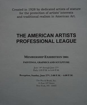 美国专业美术家协会