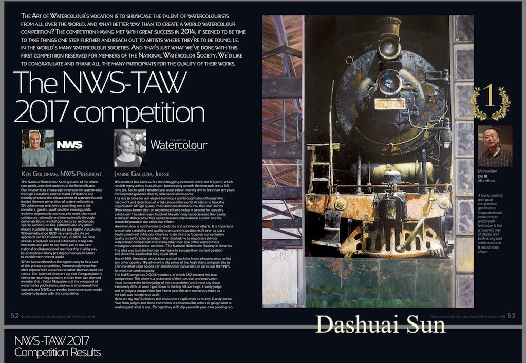 Golden Award of NWS-TWA Competition