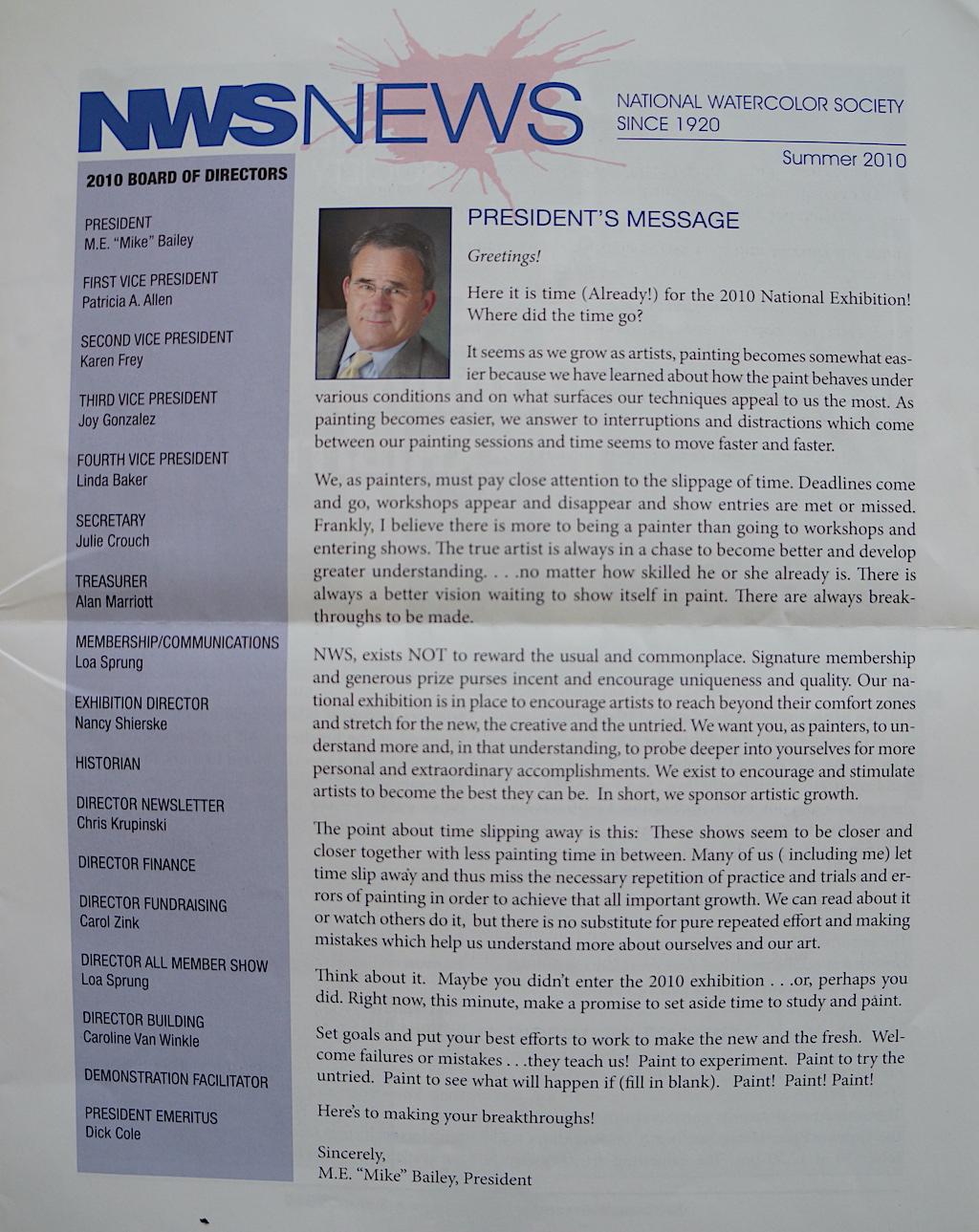 NWS News Summer 2010-01