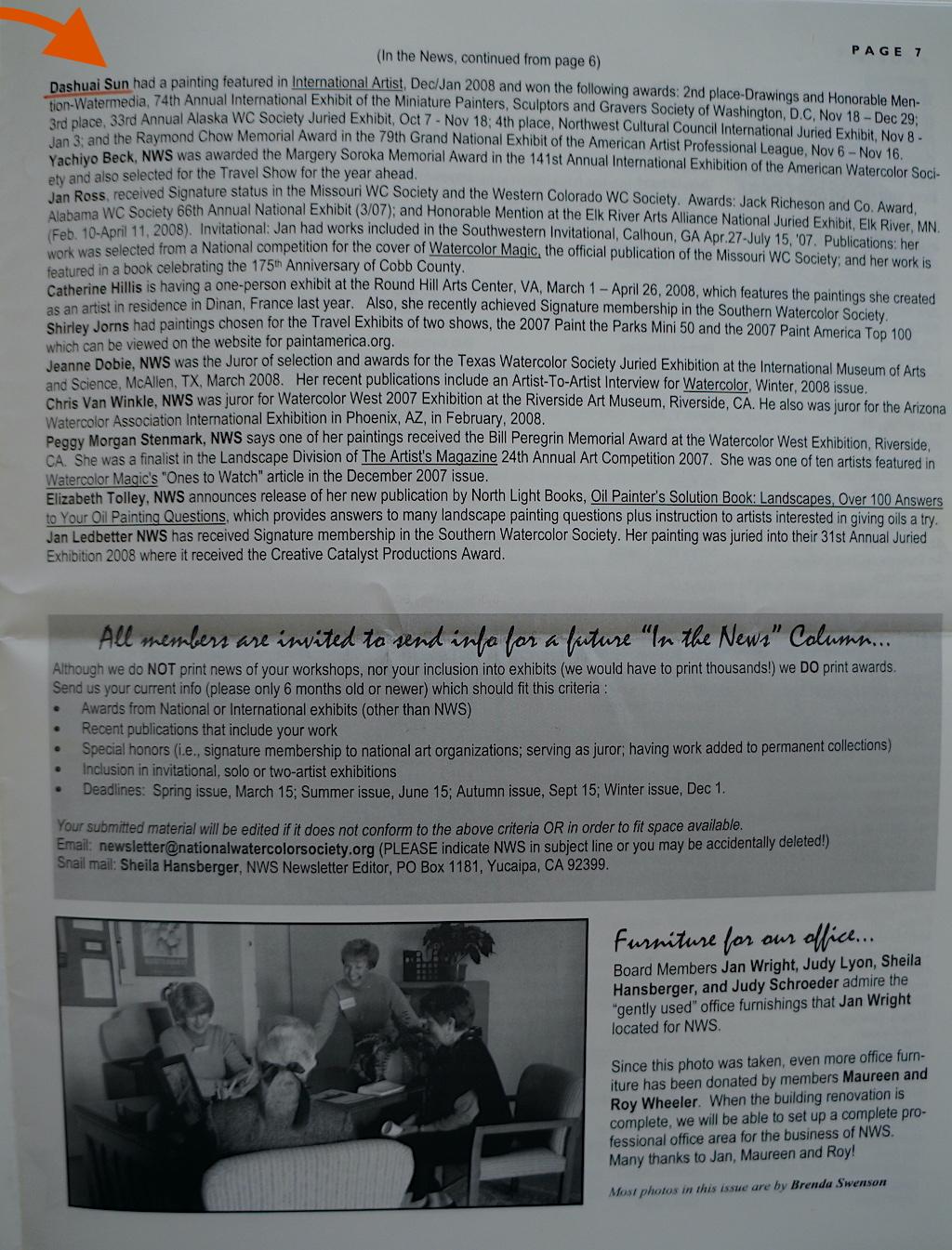 NWS News Spring 2008-02