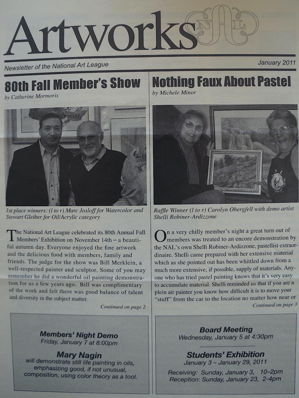 NAL Newsletter Jan. 2011