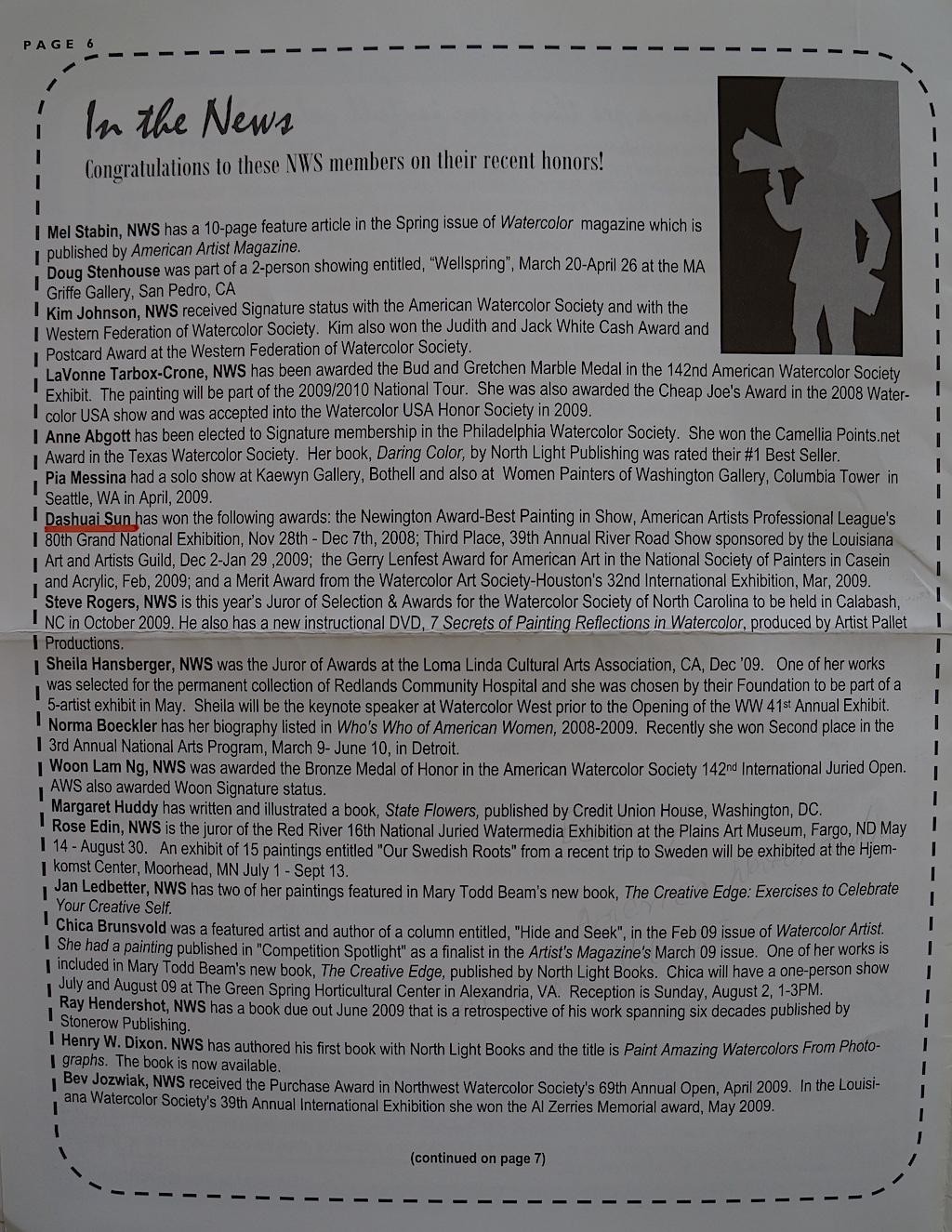 NWS News Summer 2009-02