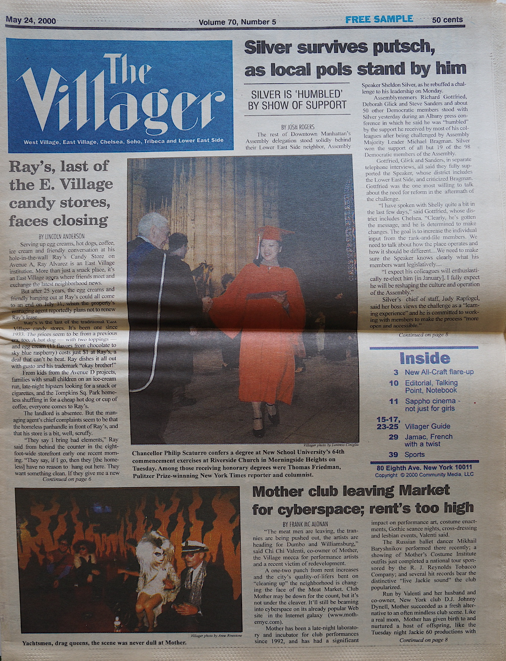 The Villager 20000524