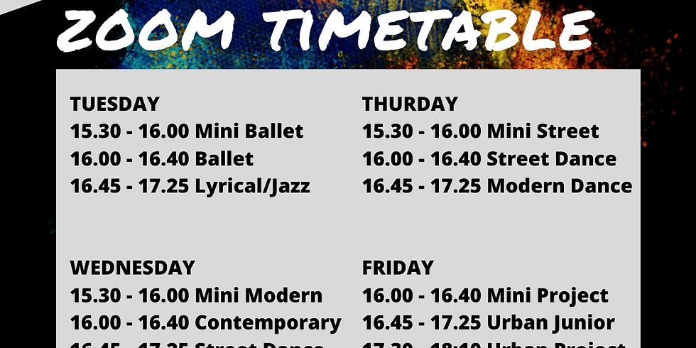 ZOOM DANCE *FEB 23 - MAR 12* (3 WEEKS)