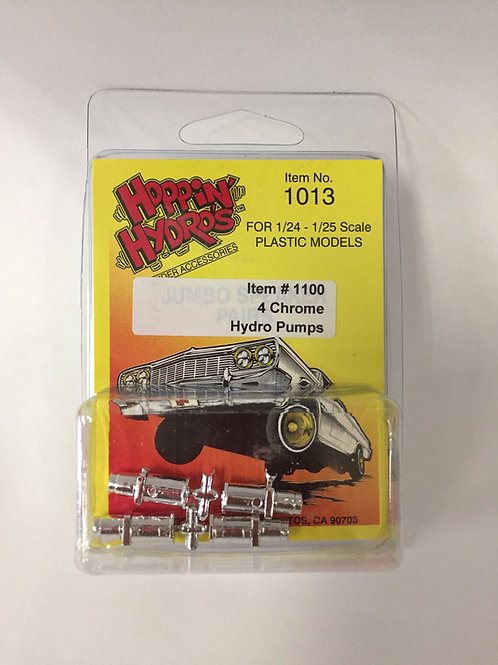 Hoppin Hydros Chrome Pumps