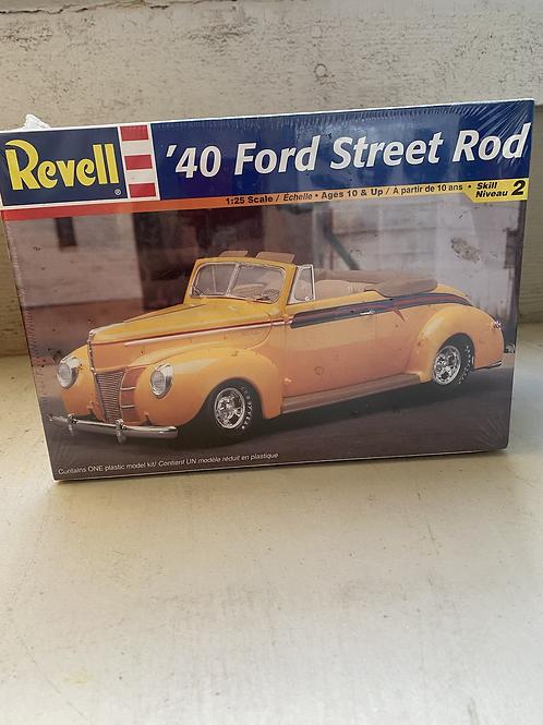 Revell  40 Ford street rod