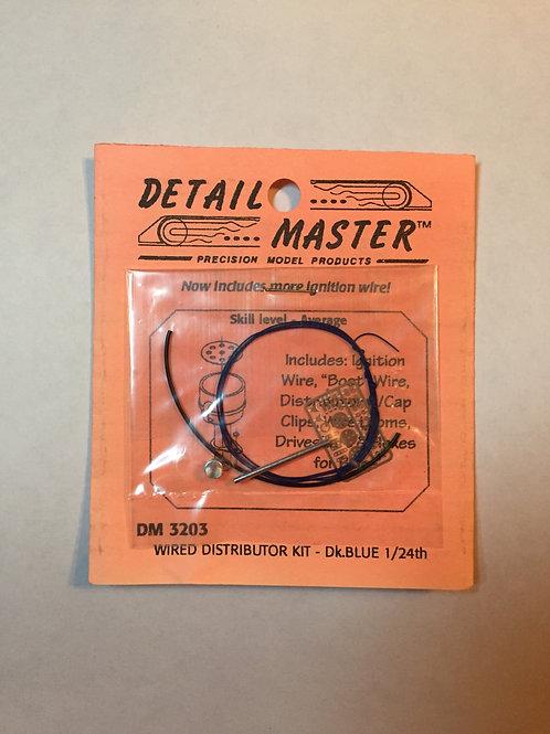 Detail Master Distributor Wire Kit - Dark Blue