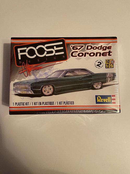 Revell 1967 FOOSE DODGE CORONET