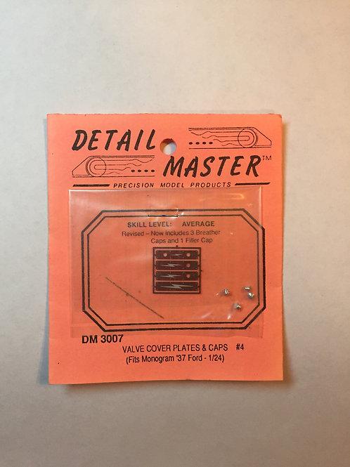 Detail Master Valve Cover Plates -'37 Ford