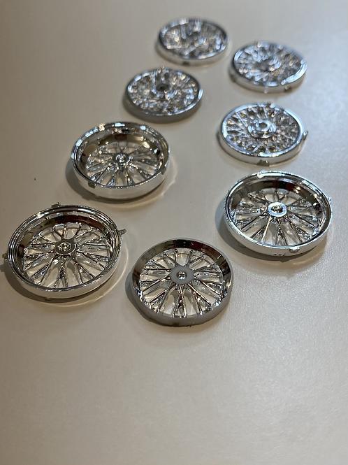 Lot of Wire wheel 2 piece spokes