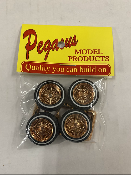 Pegasus MED LIP D's, COPPER COLOR