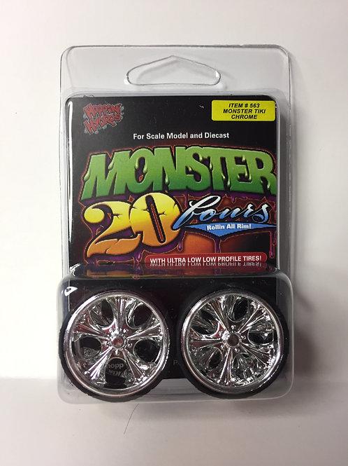 """Hoppin Hydros Monster 24s """"Tiki"""""""