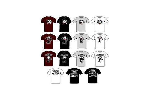Photo Media 1/24, 1/25 Felix the Cat T-Shirts