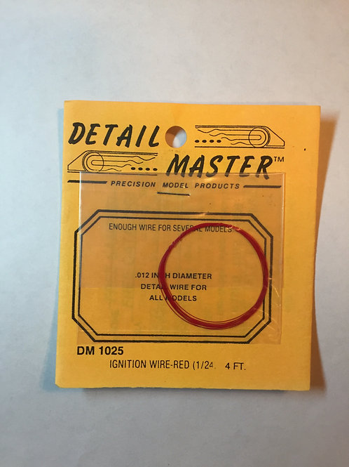 Detail Master Ignition Wire - Red