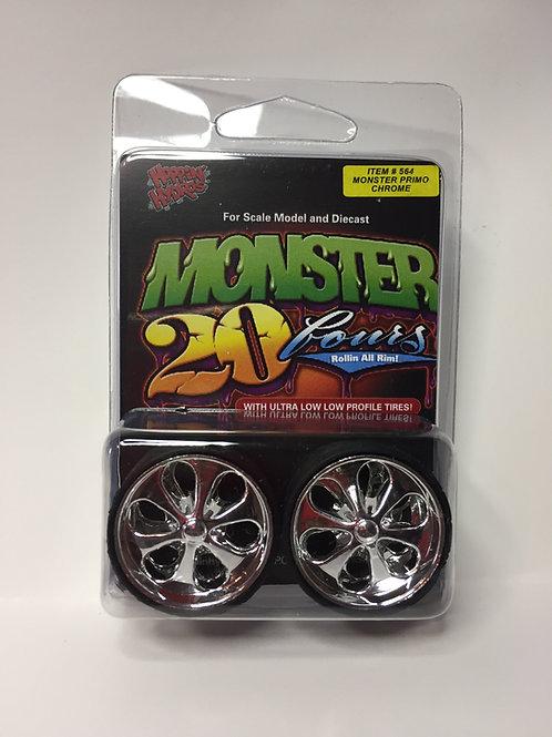 "Hoppin Hydros Monster 24s ""Primos"""
