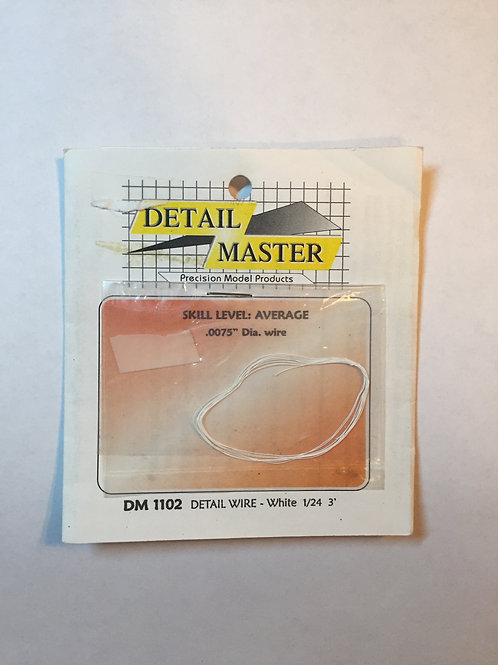 Detail Master Ignition Wire - White
