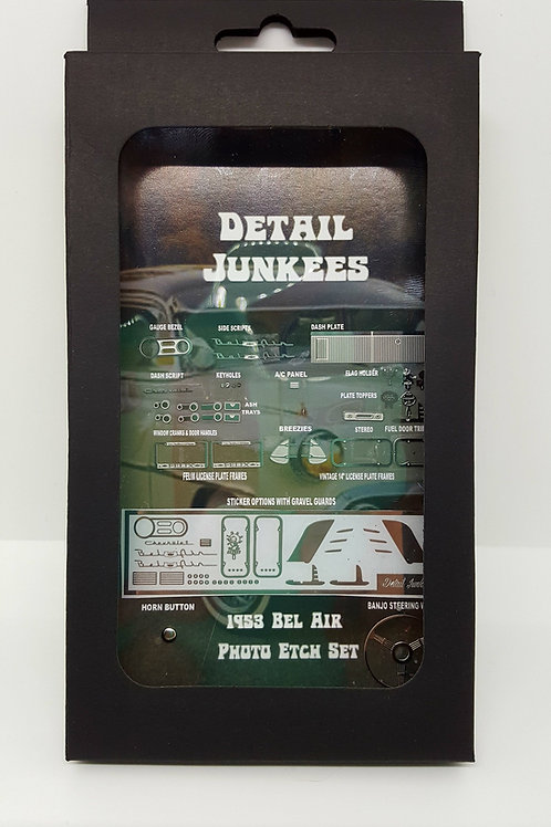 DetailJunkees 1953 Chevy Bel Air Photo Etch Set