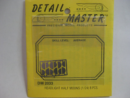 Detail Master Headlight Halfmoons