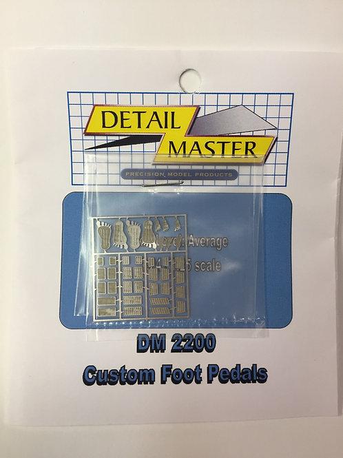Detail Master Custom Foot Pedals