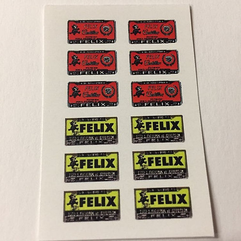 Photo Media 1/24, 1/25 Felix/Cadillac Dealer License Plates