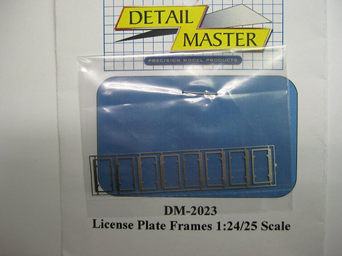 Detail Master License Plate Frames