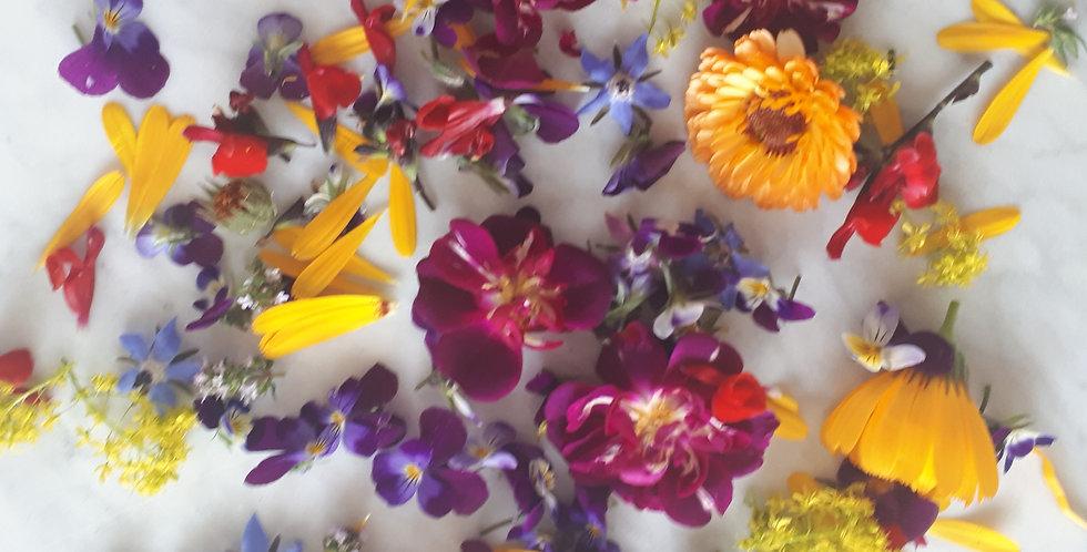 Mix van bloemen, elke dag anders
