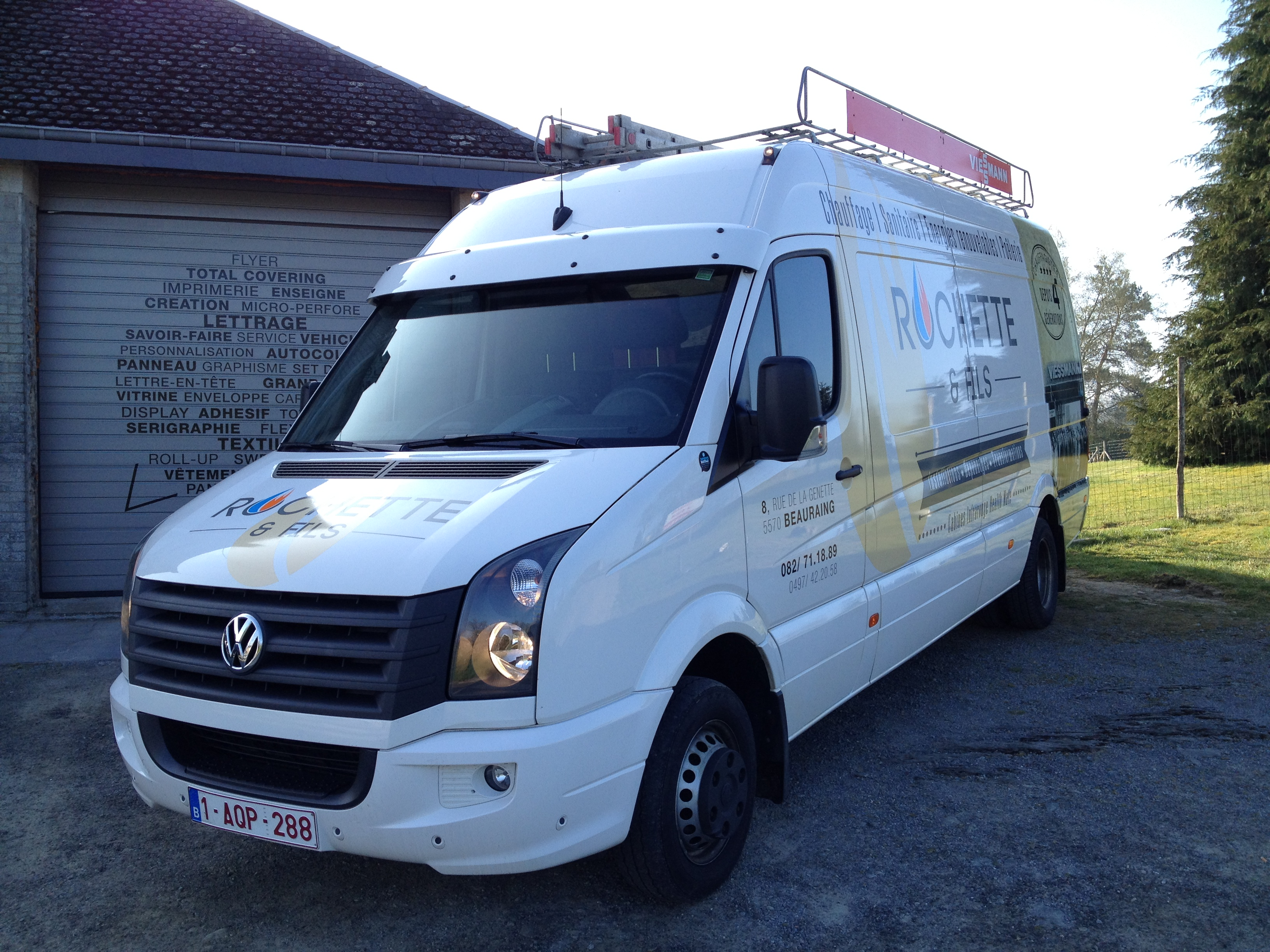 lettrage vw crafter