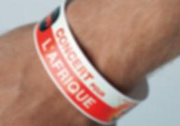 Bracelet de contrôle d'entrée