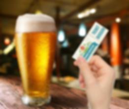 Ticket boisson personnalisé