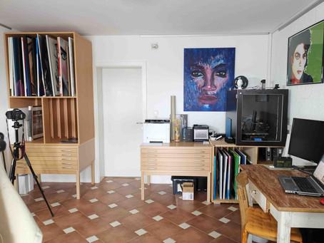 Einblick in mein Atelier