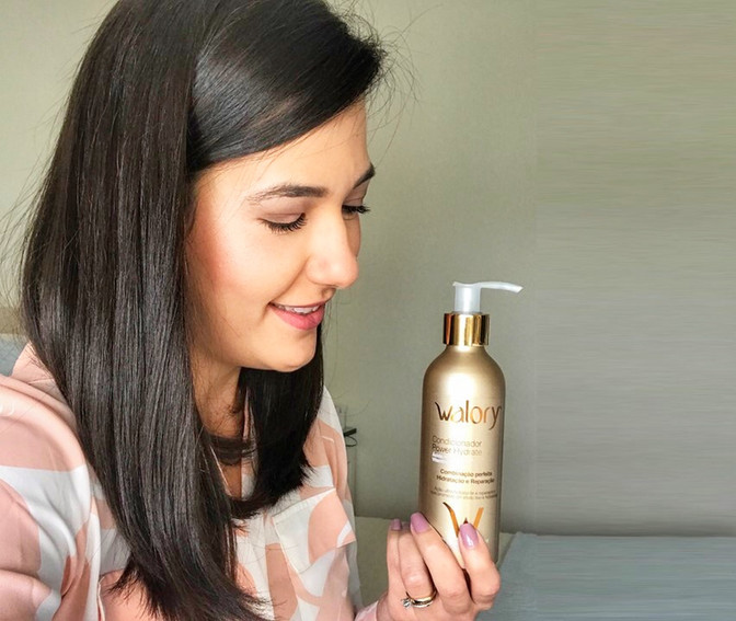 Apresentando a WALORY: Nova marca de produtos para os cabelos