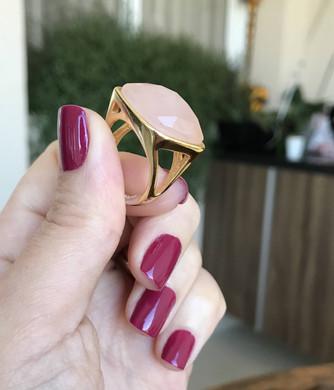 Como diminuir anel grande com cola quente