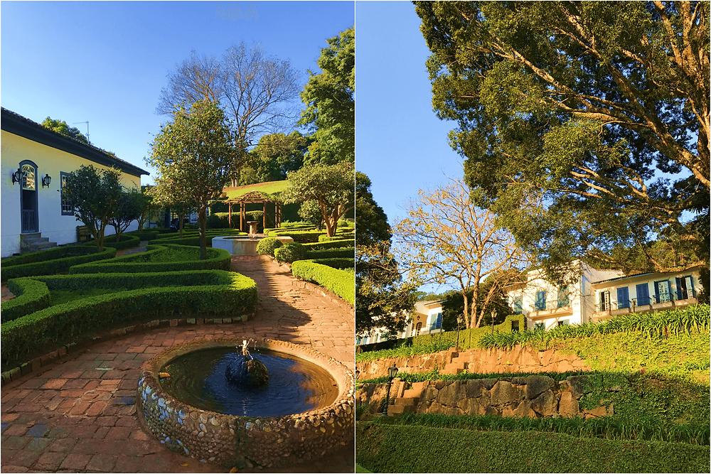 Jardim hotel Dona Carolina