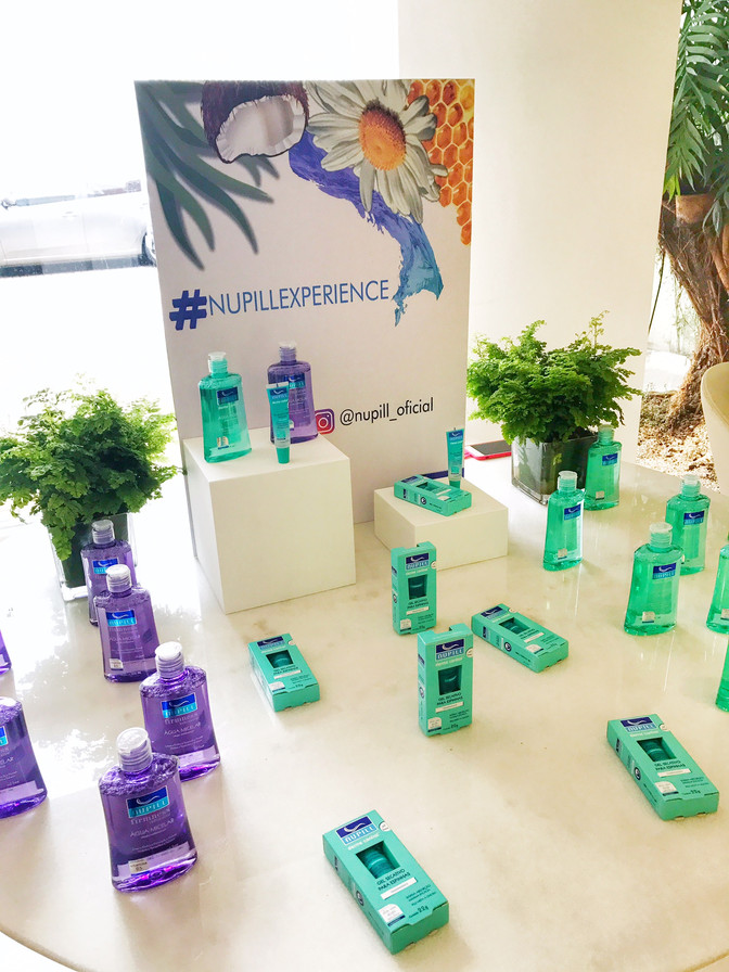 Lançamentos da marca Nupill