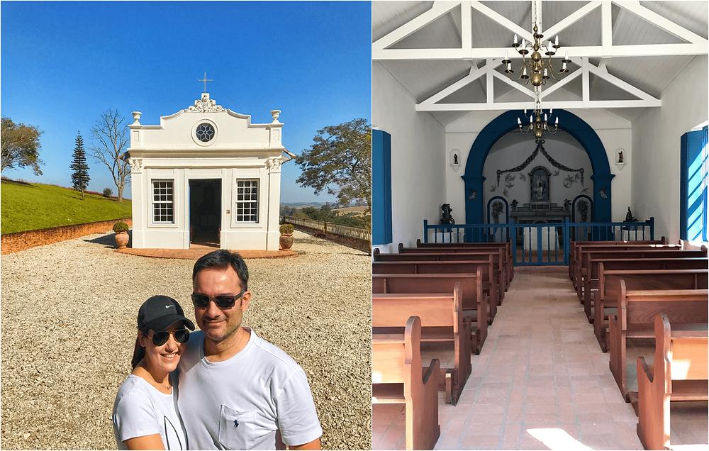 capela - Igreja de Nossa Senhora da Conceição no hotel fazenda dona carolina