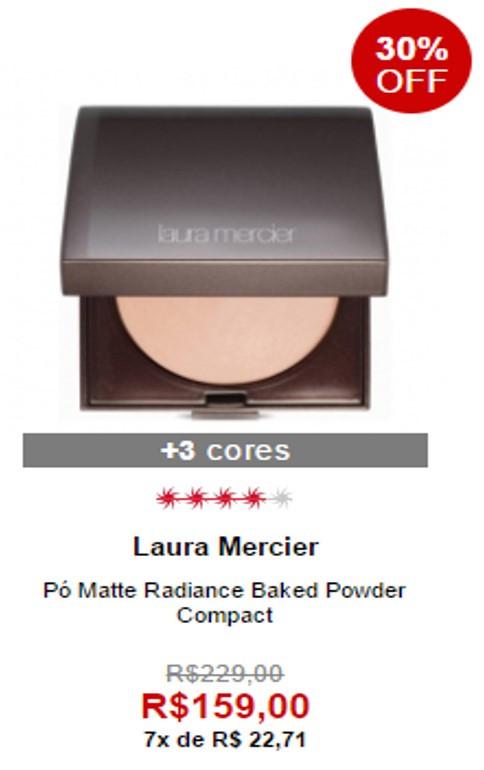 Pó Matte Radiance Baked Powder da Laura Mercier