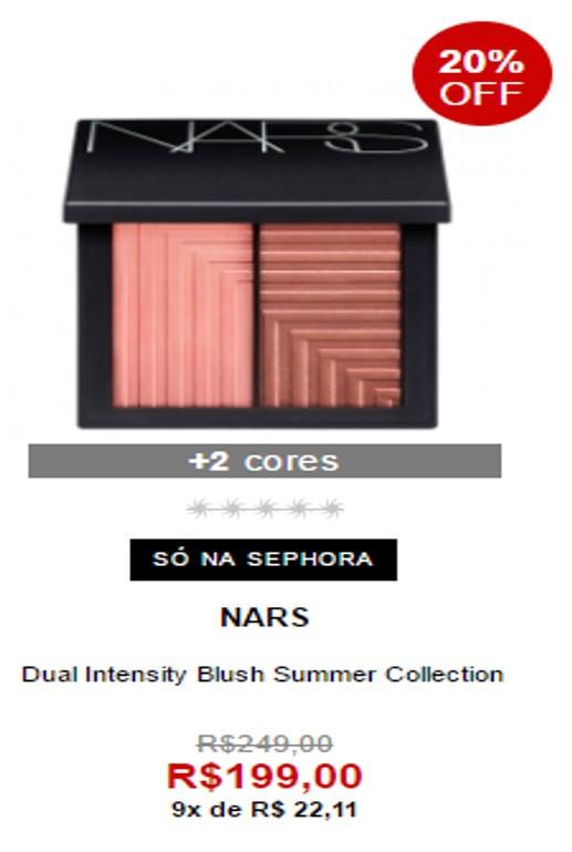 Duo de Blush Summer Collection da Nars