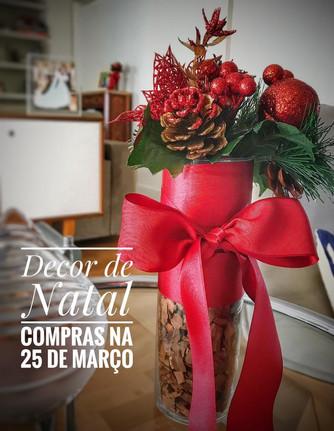 Compras de Decoração de Natal na 25 de março