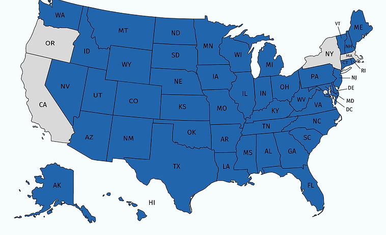 BRS Updated State Availability Map 8-24-