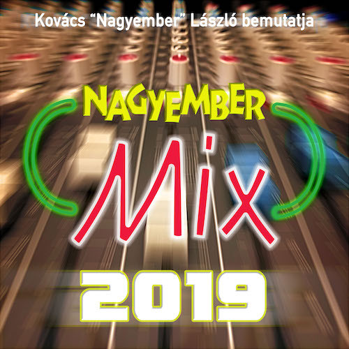 Nagyember Mix 2019 front cover