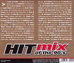 Hitmix Of The 90's back cover